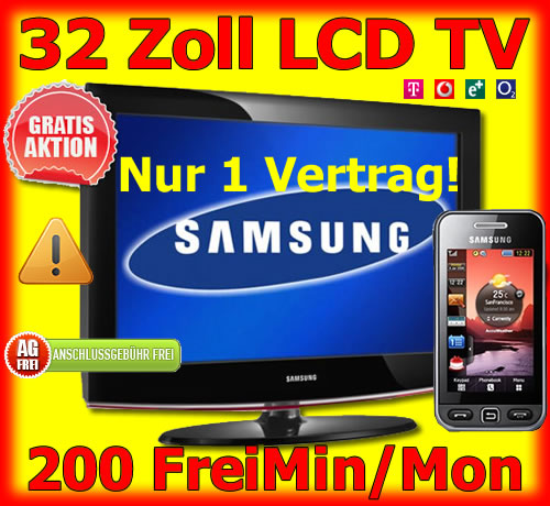 Handy Bundle LCD TV Samsung