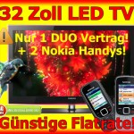 Handy Bundles mit LED TV