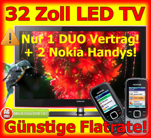 Handy Bundle LED TV